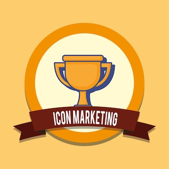 Marketing icon design