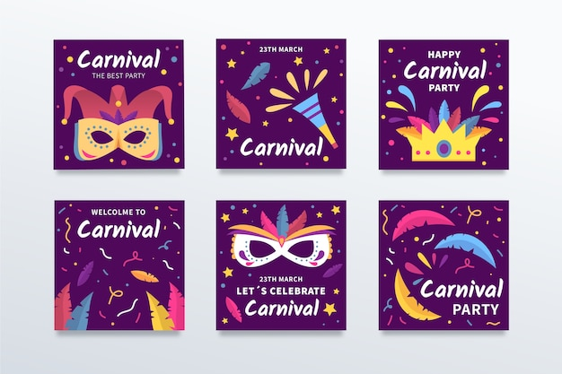 Marketing promotion for carnival party