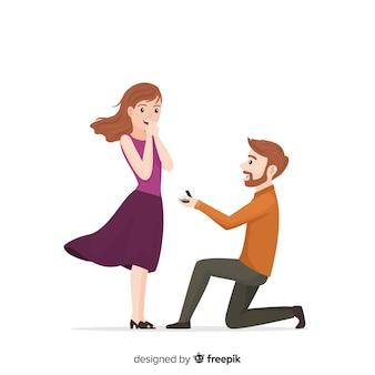 Предложение о браке и концепция любви