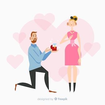 Концепция брачного предложения