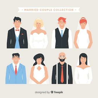 Коллекция супружеских пар