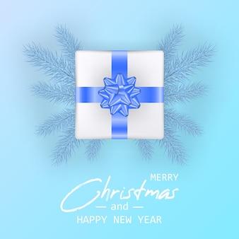 クリスマスと新年あけましておめでとうございますカードと結婚する
