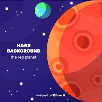 火星の背景