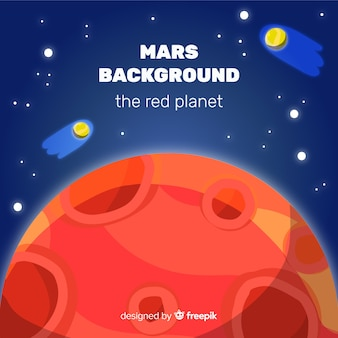 Mars background
