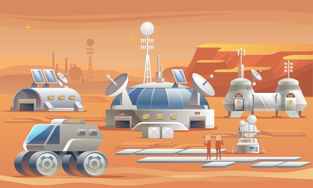 Mars colonization.