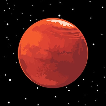 Mars illustrations