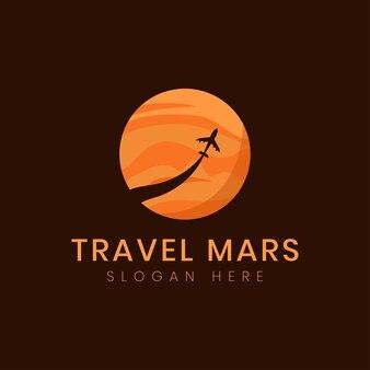 火星ミッションのロゴデザイン