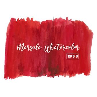 Marsala watercolor background