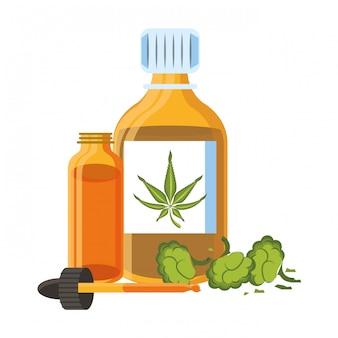 大麻martihuana sativa大麻漫画