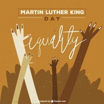 Martin luther king day illustration
