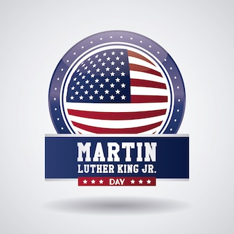 Martin luther king jr day icon