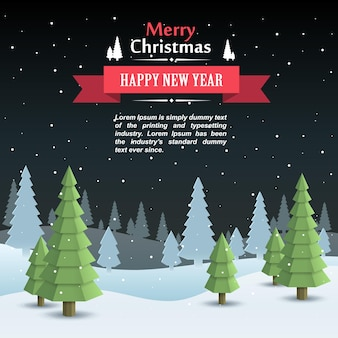 Mary christmas cover art, happy new year background, vector illustration