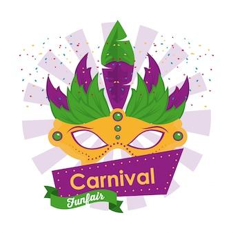 Карнавальный дизайн для тушью