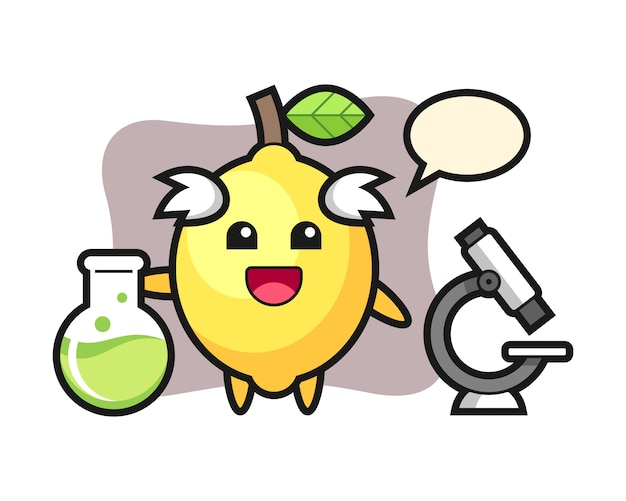 Талисман лимона как ученый