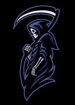 Mascot of dead grim reaper