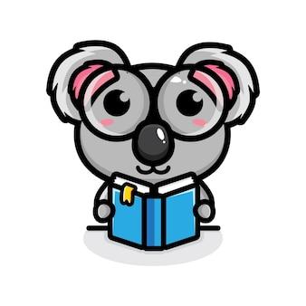 Mascot design of cute panda character