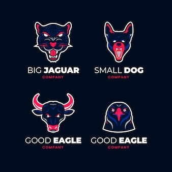 Mascot logo collection