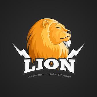 Шаблон логотипа талисмана