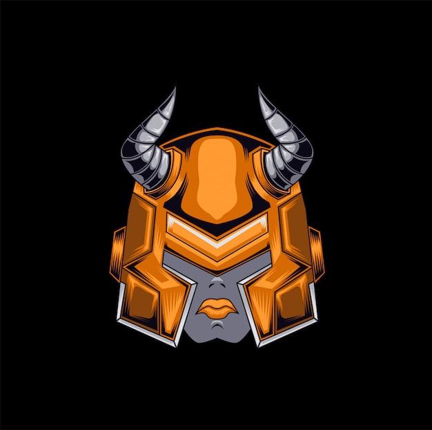 Mascot viking game asset brand