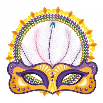 Mask and beads