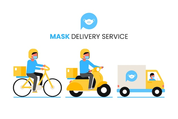 Mask delivery service