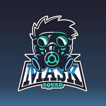 The mask, e sport logo