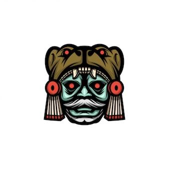 Mask logo color