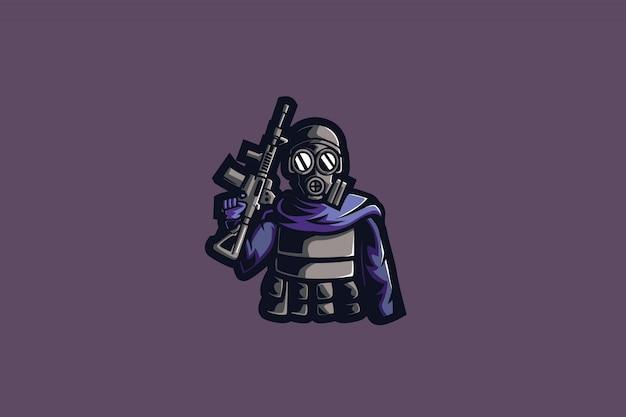 Masked gun e sports