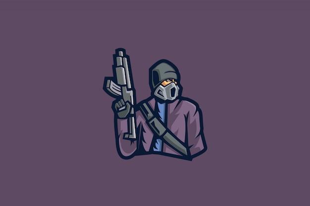 Masked gunner e sports