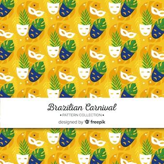 Maschere modello di carnevale brasiliano