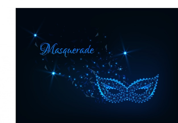 Masquerade abstract background