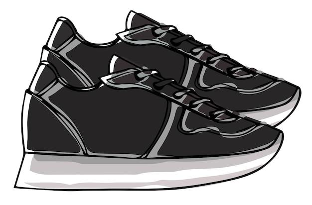 레이스 스포츠 캐주얼 신발과 함께 거대한 운동화