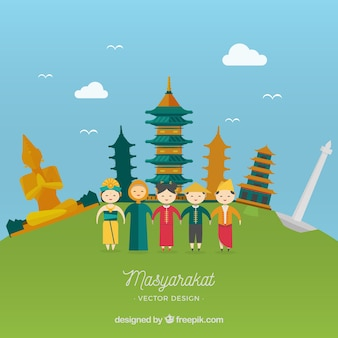 Indonesia Vectors, Photos and PSD files  Free Download
