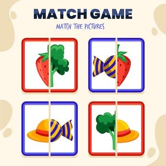 Матч игра для детей