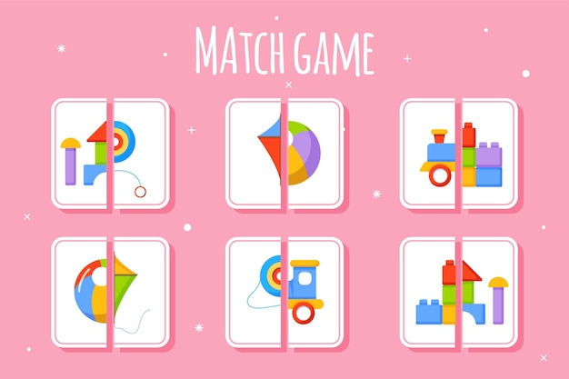 子供のためのマッチゲーム