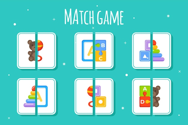 Match game for kids