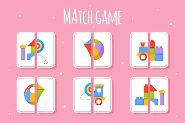 Match game per bambini