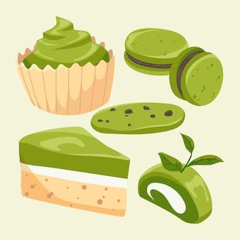 Matcha dessert pack