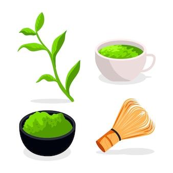 Matcha tea collection