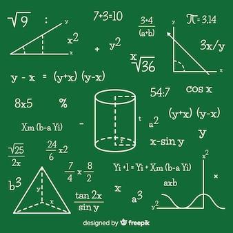 수학 칠판 배경
