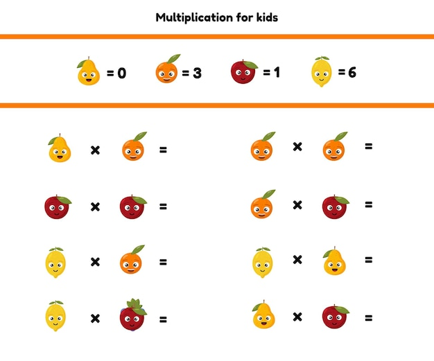 就学前および学齢期の子供のための数学ゲーム