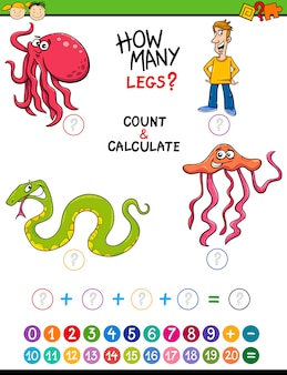 Математическая задача для дошкольников