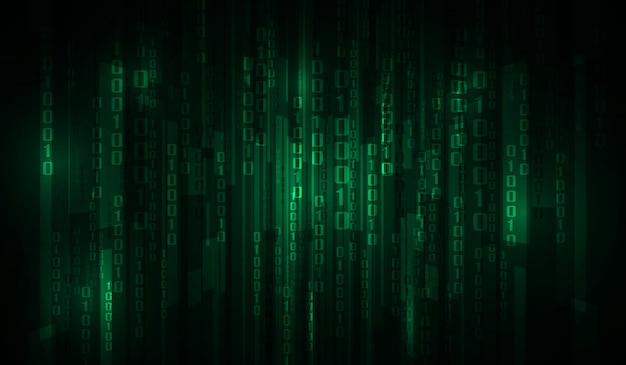 The matrix binary code