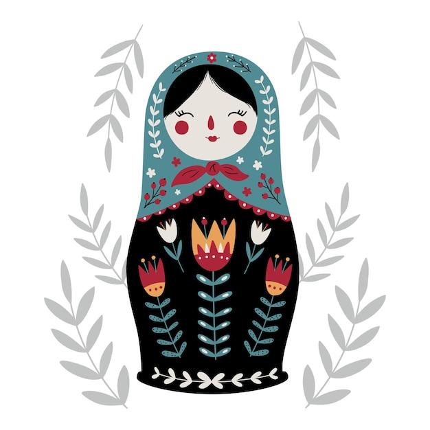 Матрешка матрешка традиционная русская культура народная игрушка кукла бабушка