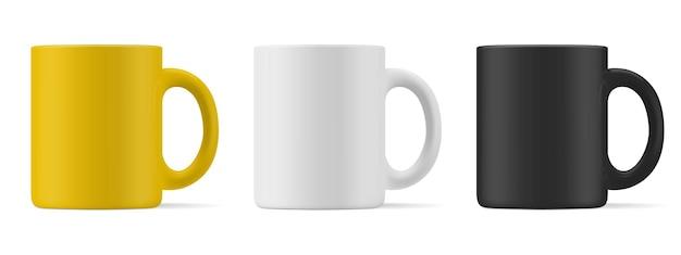 Matte mug for drinks set
