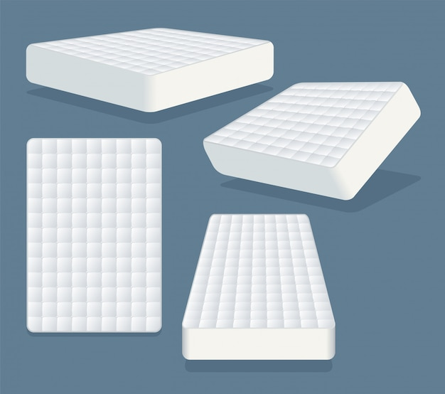 Mattress in different positions.