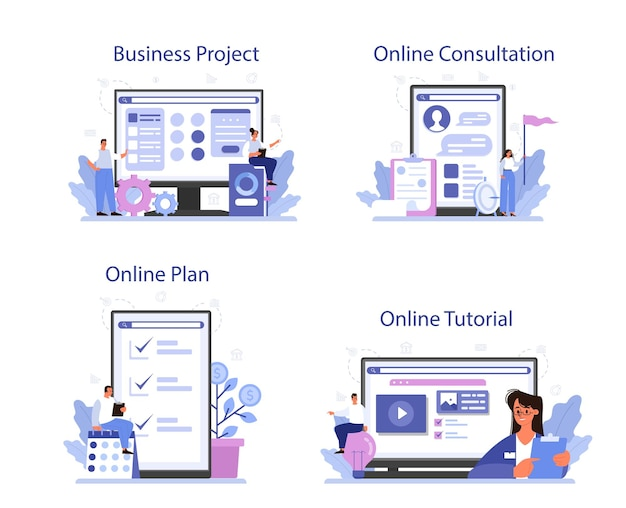 성숙기 온라인 서비스 또는 플랫폼 세트