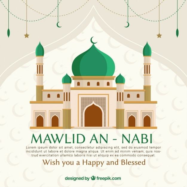 Mawlid an nabi background with mosque  sc 1 st  Freepik & Mosque Vectors Photos and PSD files   Free Download