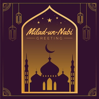 Иллюстрация фестиваля мавлид