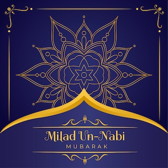Mawlid milad-un-nabi greeting background